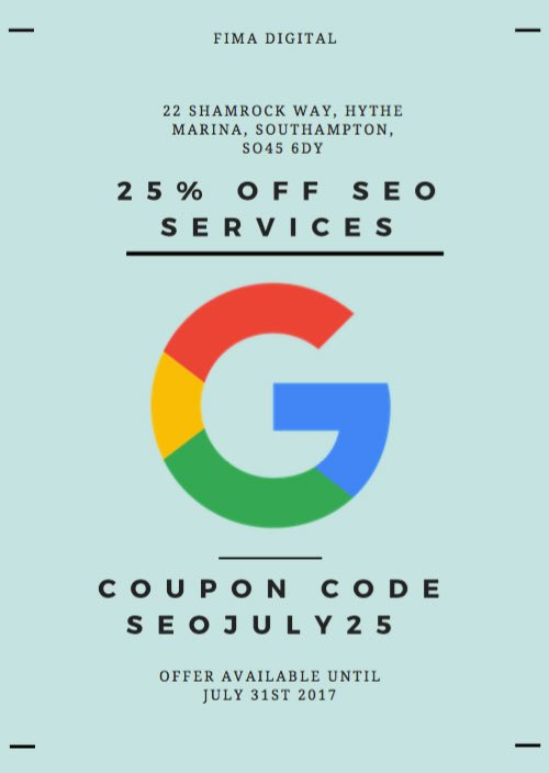 Google coupon code